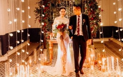 Bride and groom, event trends in 2020