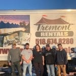 Team photo of the New York rental company, Tremont Rentals