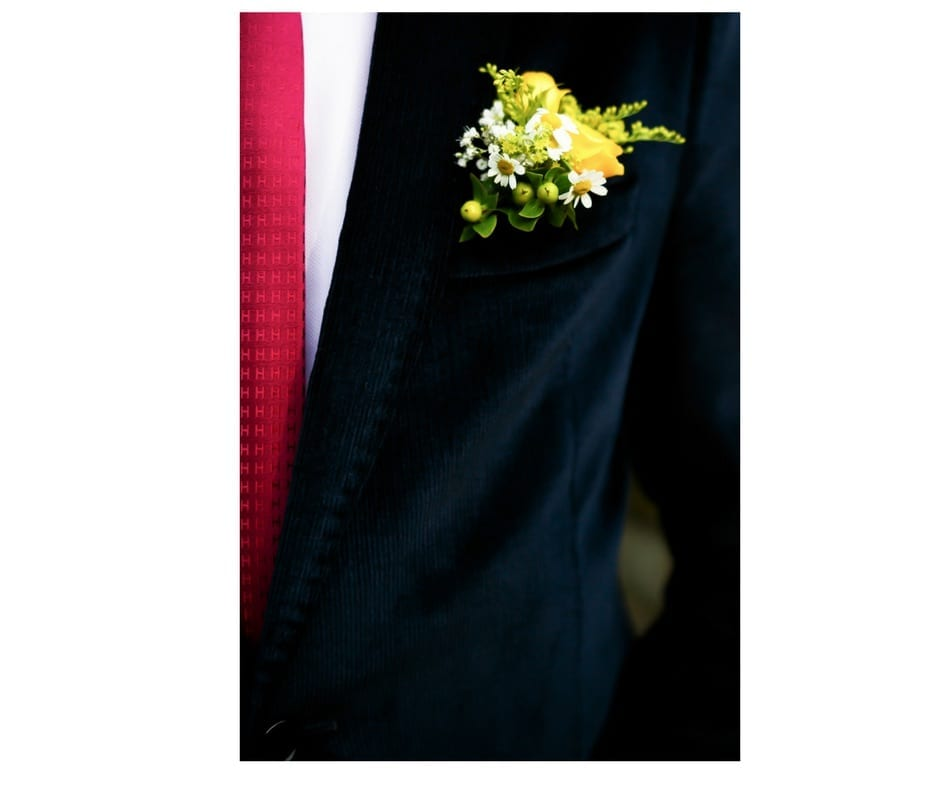 groom fashion and boutonniere by The Event Cottage