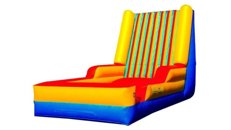inflatable bounce house with velcro. fun game for outdoor event