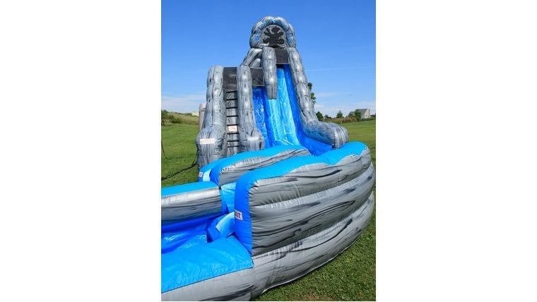inflatable water slide for a summer event