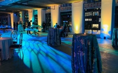 AVLD Events and lighting at Marymount University
