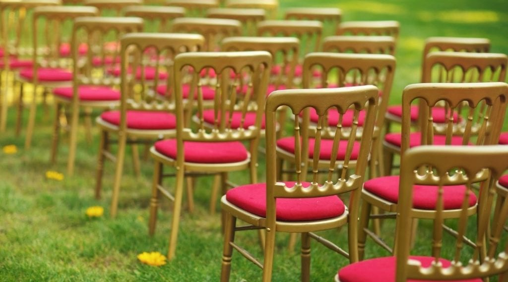 chiavari chairs with inventory management software