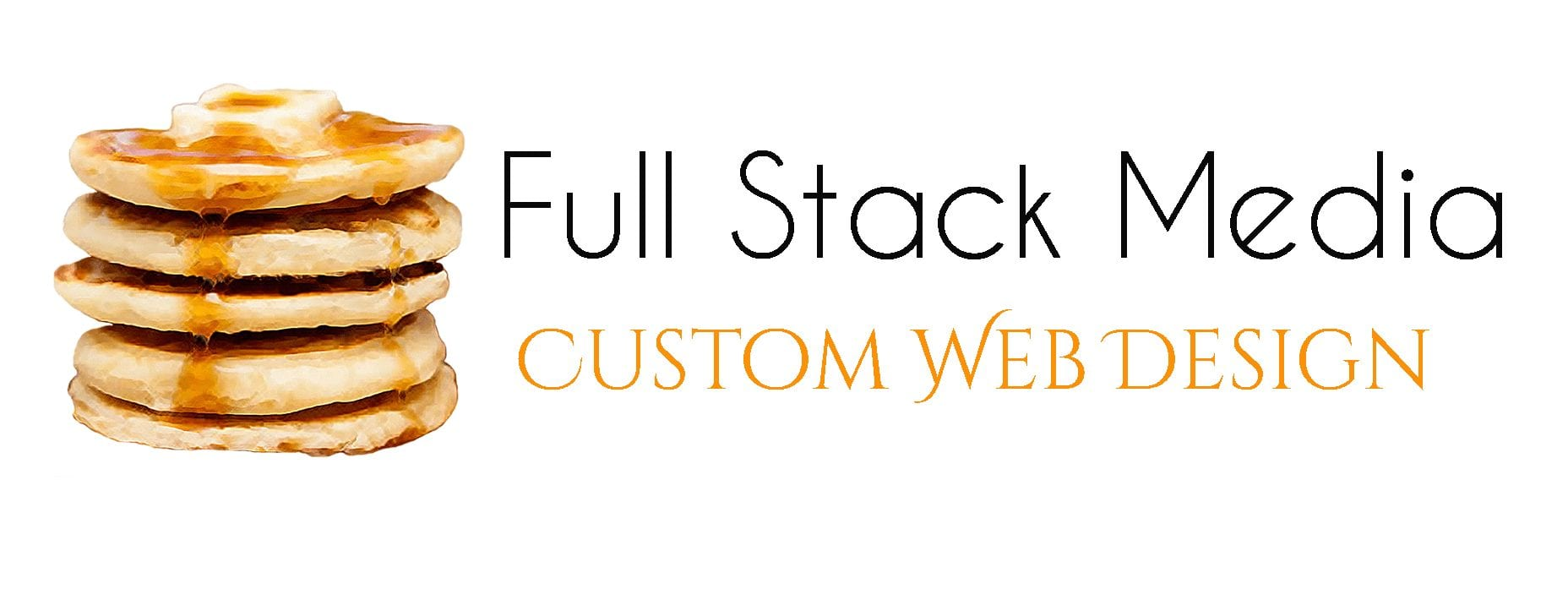 Full Stack Media custom web design logo